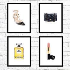 Fashion free printable wall art from @chicfetti