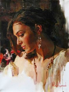 "https://www.facebook.com/MiaFeigelson ""Solemn Beauty"" By Michael & Inessa Garmash, from Ukraine (current location US) - oil painting - http://www.garmash-artist.com/"