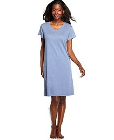Jockey Womens Classic Fit Short Sleeve Sleepshirt X-Large Cambray Blue * You can get additional details at the image link.