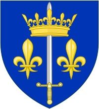 Joan of Arc's coat of arms.