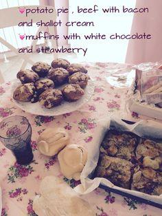 Cottage Saturday Menu' #menu #cottage #pink