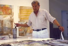 "Pace Gallery - ""Anagrams, Arcadian Retreats, Anagrams (A Pun)"" - Robert Rauschenberg through Dec 12"