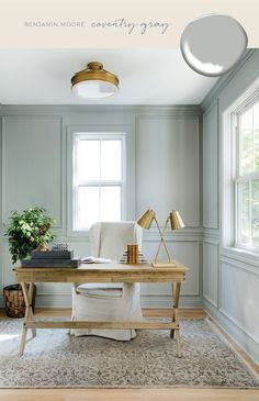 indoor paint colors Today, were sharing our roundup of our favorite eight favorite blue and gray paint colors. From bright, baby blues to deep slate grays, these colors can be seen in some of our favorite projects weve ever done. Indoor Paint Colors, Modern Paint Colors, Blue Gray Paint Colors, Office Paint Colors, Best Paint Colors, Interior Paint Colors, Paint Colors For Home, Small Bedroom Paint Colors, Furniture Paint Colors