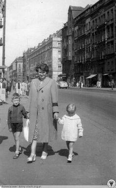 Wrocław, Ul.Piłsudskiego w 1957 roku.
