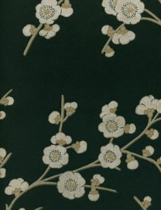 Blossom Effects wallpaper in Ebony from the Emporers Garden Collection by GP & J Baker. £72