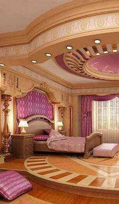 i usually love purple but idk..but I Love the celing, the floor, the head board..OMG!!! #homesweethome #welcome