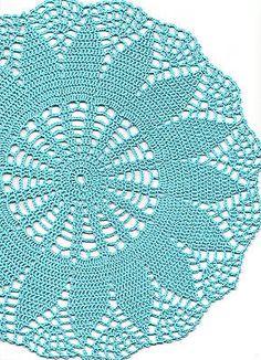 Vintage Style Crochet Lace Doily Doilies Centre Piece Wedding Table Decoration in Antiques, Fabric/Textiles, Lace/ Crochet/ Doilies   eBay!