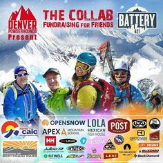 @Regrann from @denverpowderhounds -  IT'S GONNA BE RAD! Join the Collab Friday March 25th!! Another great group of speakers promoting safe backcountry including 14erskiers Brittany Konsella! Get the scoop on 14er Skiing Backcountry Zones Trip Planning & more. Plus FREE stuff worth more than the cost of admission! AND food from Lola Mexican Free Beer  Gear Raffle! Proceeds benefit Friends of CAIC Friends of Berthoud Pass & Road Warrior Foundation. Buy Event Passes at…
