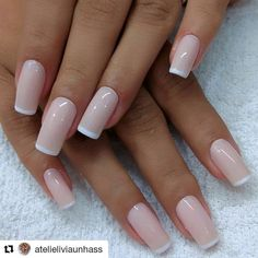 Ideas For Fails Design Bright French Manicures Love Nails, Pink Nails, Pretty Nails, Classy Nails, Stylish Nails, Pretty Nail Designs, Nail Art Designs, Kawaii Nails, Dipped Nails