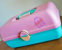 Old School Caboodles for makeup