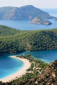 Olu Deniz, Turkey pinned by Debbie  www.coffeecakeandculture.com