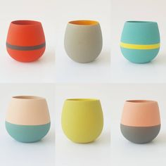Indoor Flower Pots, Indoor Plants, Different Points Of View, Cool Shapes, Modern Planters, Pottery Designs, Contemporary Ceramics, Point Of View, Diy Home Crafts