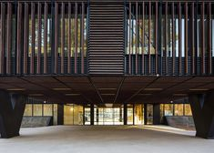 Mont-de-Marsan education centre by Marjan Hessamfar and Joe Vérons | Mont-de-Marsan, Landes, France