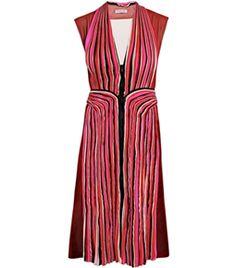 Pleated Panel Dress by Bottega Veneta  #Matchesfashion