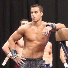 olympic gymnast jake dalton. um, yes please