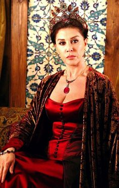 Muhtesem Yuzyil Dress Red