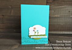 The Creativity Cave | Cottage Greetings #WWYS50 #guestdesigner