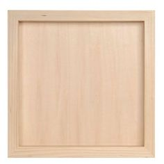Darice 97824 Unfinished Wood Shadow Box, 12-1/2-Inch