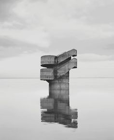 Noémie Goudal's photographs are a clever blend of the real and the imaginary... http://www.we-heart.com/2014/07/10/noemie-goudal-the-geometrical-determination-of-the-sunrise/