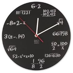 I must have this for my house and then quiz family members on what time it is :)