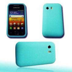 funda Silicona para Samsung GT-S5360 Galaxy S azul -> 3'90 €