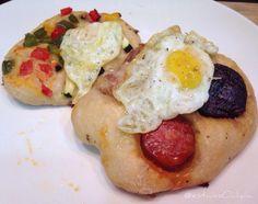 #cocas #chorizo #tocineta #bacon #morcilla #verduras &...