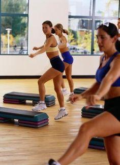 One-hour Step Class Routine | LIVESTRONG.COM