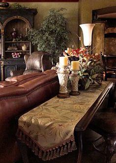 50 Luxury Living Room Ideas Tuscan decor Tuscan design and
