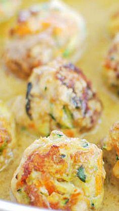 Thai Pork and Veggie Meatballs