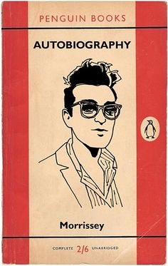 Morrissey Autobiography design by Marto