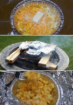Campfire Mac 'n' Cheese