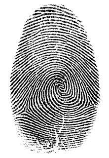 Deu branco: Revelando impressões digitais
