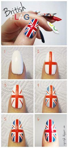 Mini tutorial bandeira da Inglaterra