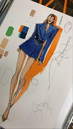 Fashion Drawing Tutorial, Fashion Figure Drawing, Fashion Drawing Dresses, Fashion Illustration Dresses, Fashion Model Sketch, Fashion Design Sketchbook, Fashion Design Drawings, Fashion Sketches, Moda Fashion