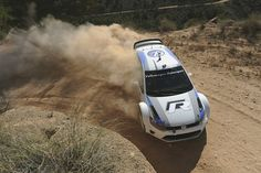 Testing Polo R WRC