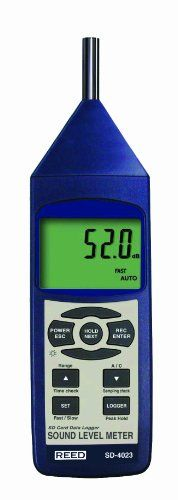 Reed Instruments Sd-4023 Dound Level Meter Data Logger, 2015 Amazon Top Rated Data Loggers #HomeImprovement