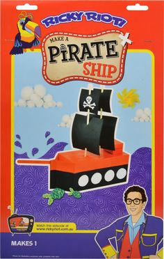 Make your own Pirate Ship! $4.99