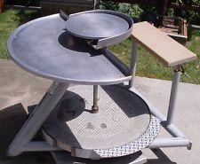 Lockerbie Pottery Model K Kick Wheel Heavy Duty Potters Great Shape
