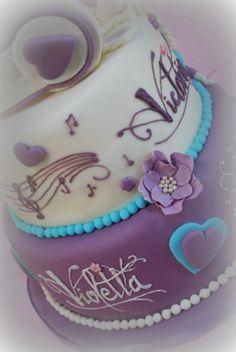 Violetta cake by Dolcemente Beky
