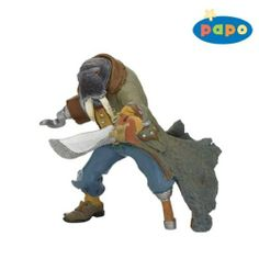 Walrus Mutant Pirate by Papo. $7.69. 3.54 in L x 5.32 in W x 3.15 in H. The figures of the Papo Pirate Collection will stand up to the most treacherous of sea travel and treasure battles, sending children's imaginations down the plank into a creative and legendary pirate world!