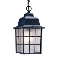Acclaim 5306BK Nautica Collection 1-Light Outdoor Light Fixture Hanging Lantern, Matte Black * undefined