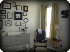 I like that changing table/buffet.  Love the color/style.