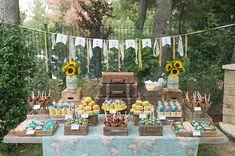 Baptism Themes, Baptism Decorations, Boy Baptism, Baby Christening, Baptism Ideas, Table Decorations, 8th Grade Dance, Boy Decor, Travel Themes