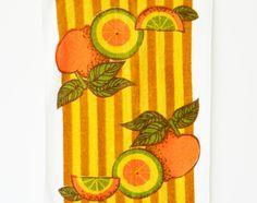 Mod Citrus Dish Towel