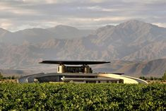 O. Fournier Winery, in Mendoza, Argentina, was designed by Bormida & Yanzon and completed in 2007. The modern concrete,…