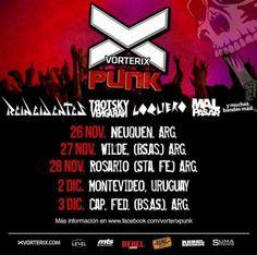 14963373_10154232438979092_6052569645551679026_n Montevideo, Punk Rock, Rebel, Uruguay, Concerts