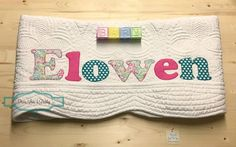 Personalized baby quilt personalized baby gift monogrammed quilt personalized baby quilt personalized baby gift monogrammed quilt baby shower gift baby dedication gift pink and mint baby carsyn negle Image collections