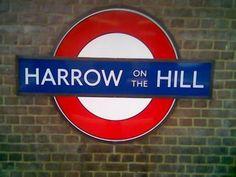 Harrow-on-the-Hill London Underground Station in Harrow