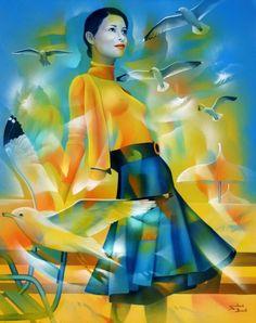 Французская художница Jeannette Guichard-Bune Источник: worldart.uol.ua/text/10670859/#cut