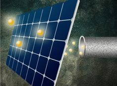 Special deal on photon-to-electron conversion: Two for one!    New technique developed at MIT could enable a major boost in solar-cell efficiency.   #Solar #SolarEnergy